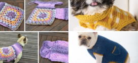 Simple Dog Sweater with Tutorial