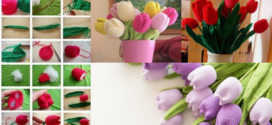 How to Crochet Tulips – Tutorial and Ideas
