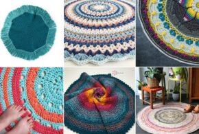 Top 10 Oval Mandala Rugs Ideas and Free Crochet Patterns